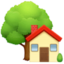 house Emoji on Facebook