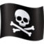 pirate flag Emoji on Facebook