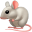 mouse Emoji on Facebook