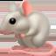 鼠上的Facebook表情符号
