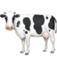 cow Emoji on Facebook