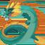 dragon Emoji on Facebook