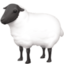 ewe Emoji on Facebook