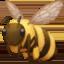 honeybee Emoji on Facebook