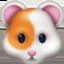 hamster Emoji on Facebook