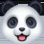panda Emoji on Facebook