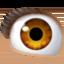 eye Emoji on Facebook
