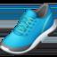 鞋上的Facebook表情符号