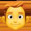 man Emoji on Facebook