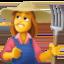 woman Emoji on Facebook