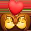 kiss: woman, woman Emoji on Facebook
