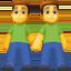 men holding hands Emoji on Facebook
