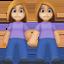 情侣上的Facebook表情符号