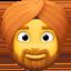 man wearing turban Emoji on Facebook