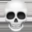 skull Emoji on Facebook