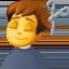 man getting haircut Emoji on Facebook