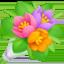 bouquet Emoji on Facebook