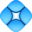 diamond with a dot Emoji on Facebook