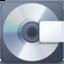 computer disk Emoji on Facebook