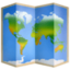 world map Emoji on Facebook
