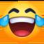 face with tears of joy Emoji on Facebook