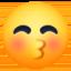 smiling face Emoji on Facebook