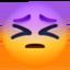 persevering face Emoji on Facebook
