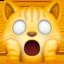 weary cat Emoji on Facebook