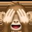 フェイスブックの三猿絵文字