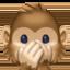speak-no-evil monkey Emoji on Facebook