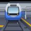 train Emoji on Facebook