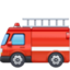 fire engine Emoji on Facebook