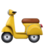motor scooter Emoji on Facebook