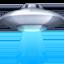 飞碟上的Facebook表情符号