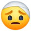 face with head-bandage Emoji on Facebook