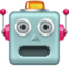 robot Emoji on Facebook