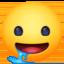sleepy face Emoji on Facebook