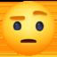 zipper-mouth face Emoji on Facebook