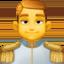 Emoji de príncipe en Facebook