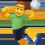 man playing handball Emoji on Facebook