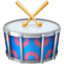 drum Emoji on Facebook