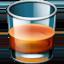 Emoji de vaso de vidrio en Facebook