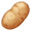 potato Emoji on Facebook