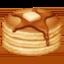 食物上的Facebook表情符号