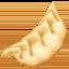 水饺上的Facebook表情符号