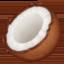 coconut Emoji on Facebook