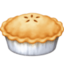 pie Emoji on Facebook