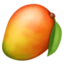 Emoji de fruta en Facebook