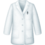 lab coat Emoji on Facebook