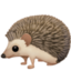 hedgehog Emoji on Facebook